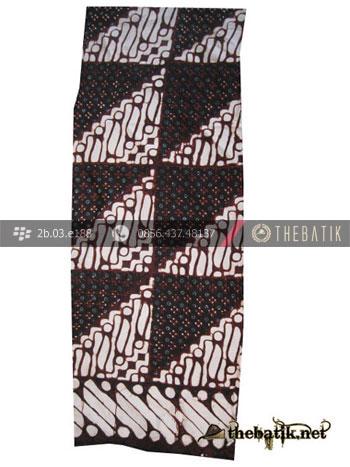 Syal Batik Souvenir Motif Parang Tambal