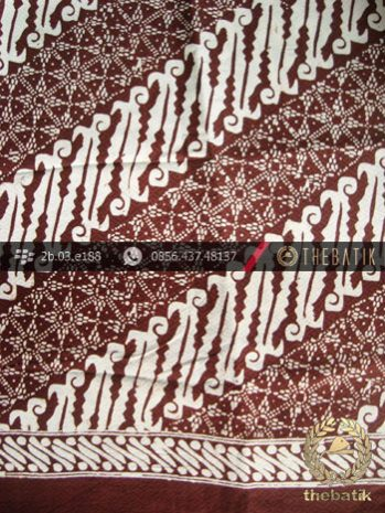 Batik Cap Jogja Motif Parang Seling Cakar Dobi