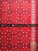 Kain Batik Cap Tulis Jogja Motif Grompol Merah