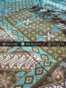 Sarung Selendang Batik Sutera Motif Lawasan Hijau