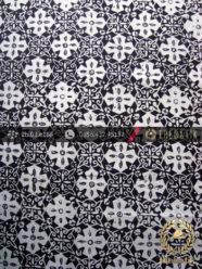 Kain Batik Cap Jogja Motif Bintang Kelengan