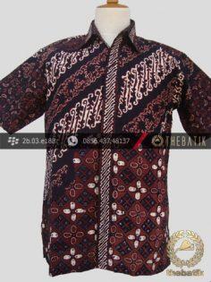 Hem Batik Cap Tulis Jogja Motif Pulau-1
