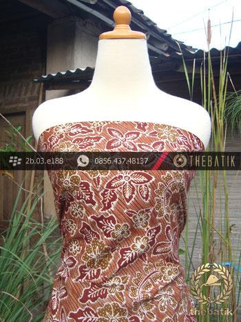 Kain Batik Tulis Jogja Motif Bantulan Galaran Merah