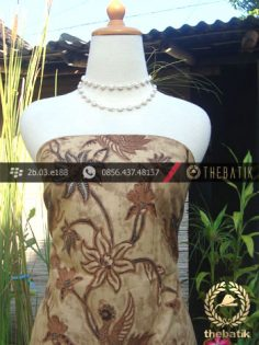 Kain Batik Cap Solo Motif Lung-Lungan