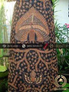 Kain Batik Cap Solo Motif Ukel Merak Bledak