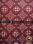 Kain Batik Cap Tulis Jogja Motif Jayakirana Marun