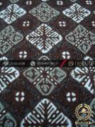 Kain Batik Cap Tulis Jogja Motif Nitik Biru Air