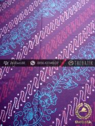 Kain Batik Cap Tulis Jogja Motif Parang Seling Kembang Biru-2