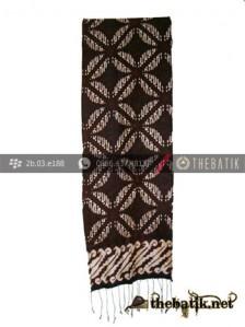 Syal Batik Souvenir Motif Bligon