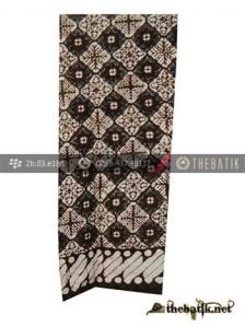 Syal Batik Souvenir Motif Nithik Kotak