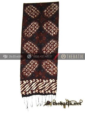 Syal Batik Souvenir Motif Ceplok Kawung
