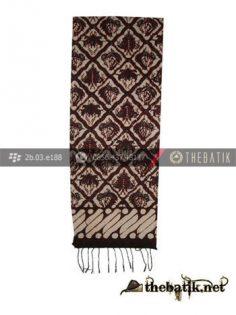 Syal Batik Motif Sido Luhur