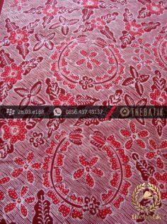 Kain Batik Tulis Jogja Motif Bantulan Galaran Merah-2