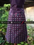Kain Batik Tulis Jogja Motif Kontemporer Biru-Ungu