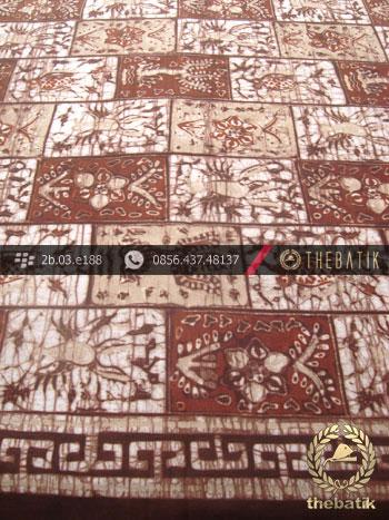 Kain Batik Warna Alam Motif Kontemporer-1