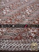 Kain Batik Warna Alam Motif Parang Kontemporer