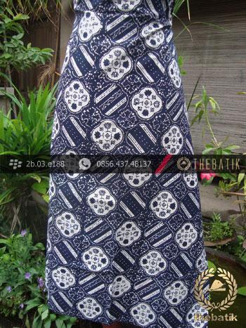 Bahan Batik Cap Motif Ceplok Kelengan