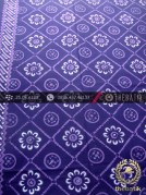 Kain Batik Cap Tulis Yogya Motif Ceplok Kembang Ungu