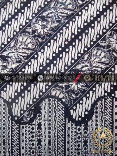 Kain Batik Cap Yogya Motif Parang Kombinasi Udan Liris