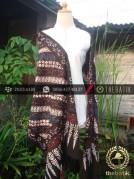 Selendang Batik Motif Parang Seling Kawung