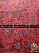 Kain Batik Tulis Yogyakarta Motif Bantulan Merah