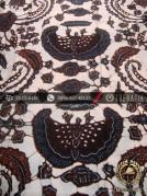 Kain Batik Tulis Jogja Motif Babon Angrem Latar Putih