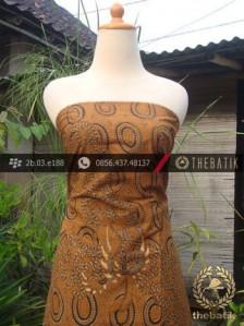 Kain Batik Cap Solo Motif Pulau Soga Genes