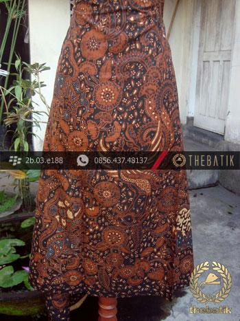 Kain Batik Cap Solo Motif Ceplok Singa Peksi