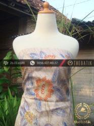 Batik Tulis Sutera Motif Bantulan Lawasan
