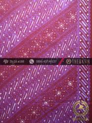 Kain Batik Cap Tulis Jogja Motif Parang Seling Cakar Ungu