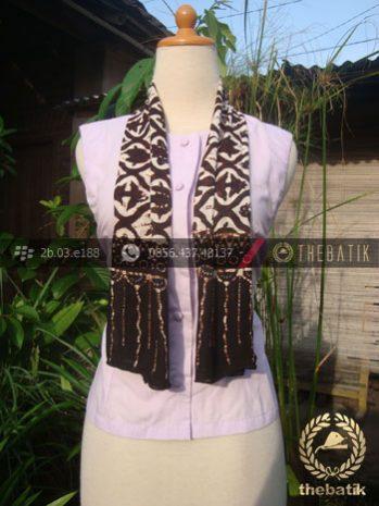 Syal Batik Paris Motif Sido Luhur