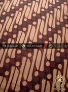 Kain Batik Cap Jogja Motif Parang Barong Lawasan Coklat