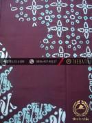 Kain Batik Cap Tulis Jogja Motif Pulau Parang Lukis Biru