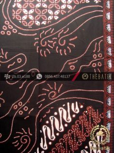 Kain Batik Cap Tulis Jogja Motif Pulau Sogan