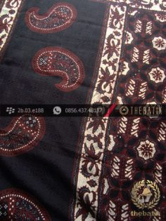 Batik Sutera Jogja Motif Klasik Tumpal-2