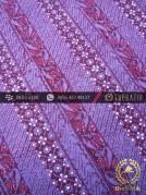 Kain Batik Cap Tulis Jogja Motif Lereng Ungu
