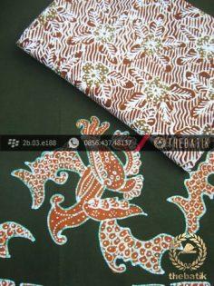 Paket Kombinasi Batik Tulis Hijau Kuning