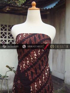 Kain Batik Cap Tulis Jogja Motif Pulau Parang Kombinasi-2
