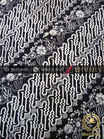 Kain Batik Cap Kelengan Motif Parang Curigo Seling