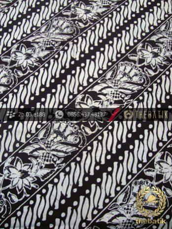 Kain Batik Cap Kelengan Motif Parang Klithik Merak