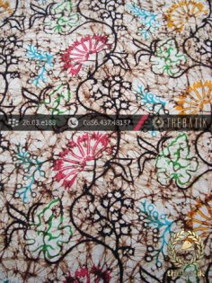 Batik Remukan Wonogiren Motif Kipas Coletan