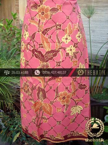Batik Cirebon Motif Kawung Buketan Jambon