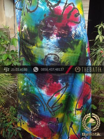 Batik Air Brush Viscos Motif Kontemporer-12