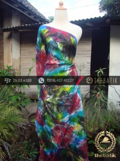 Batik Air Brush Viscos Motif Kontemporer-15