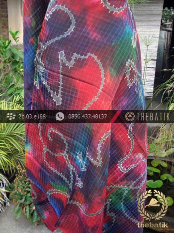 Batik Air Brush Viscos Motif Kontemporer-2