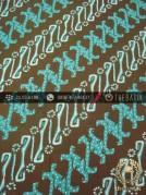 Kain Batik Cap Tulis Jogja Motif Parang Hijau
