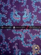 Kain Batik Tulis Jogja Motif Angsa Kembar Biru