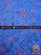 Kain Batik Tulis Jogja Motif Bantulan Galaran Biru Merah