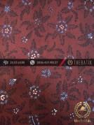 Kain Batik Tulis Jogja Motif Bantulan Gringsing Coklat