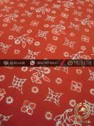 Batik Cap Tulis Motif Ceplok Jingga